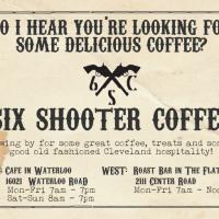 Six Shooter Postcards